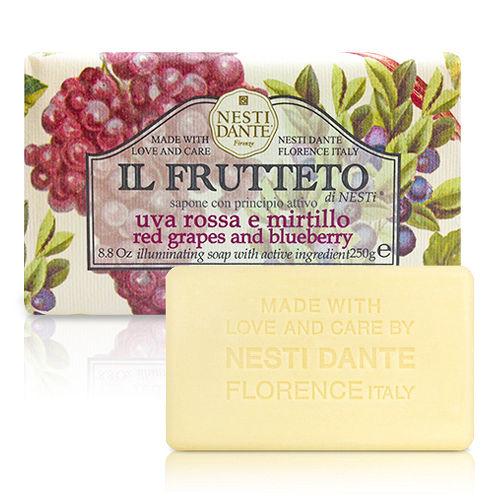 【Nesti Dante】義大利手工皂 天然鮮果系列 紅葡萄&藍莓 250g