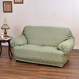 《格藍傢飾》翠娜(綠) 彈性沙發便利套(1+2+3人座)