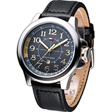 TOMMY HILFIGER 飛行時尚腕錶 M1790843 黑