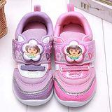 【童鞋城堡】朵拉花朵LED電燈運動鞋{台灣製造}DR5596