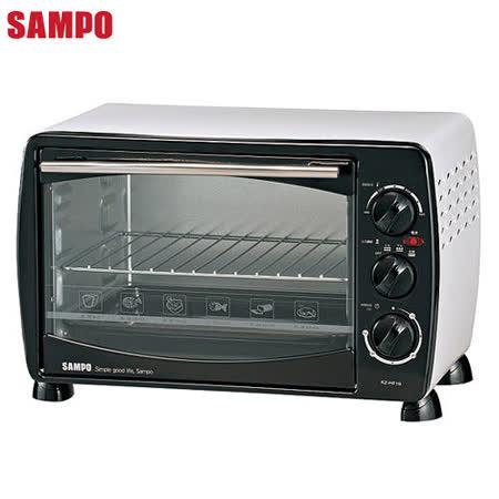 【SAMPO聲寶】19公升電烤箱(KZ-HF19)