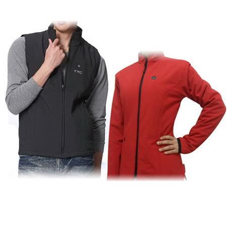 TYC專利3段變溫發熱機能外套-黑色