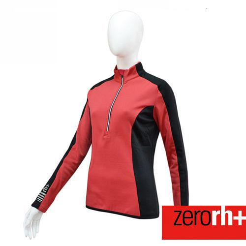 ZERORH 刷毛長袖自行車衣 女  ICD0077