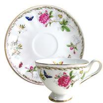 【蝴蝶玫瑰】2入杯盤組GW-314