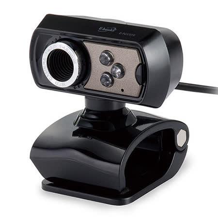 E-books W8 3000萬畫素LED燈網路攝影機Webcam