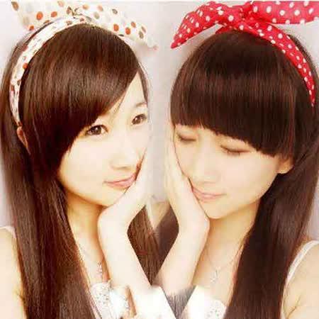 【PS Mall】韓版髮飾蝴蝶結vivi百變小兔子髮箍頭箍寬髮帶雪紡 (G919)