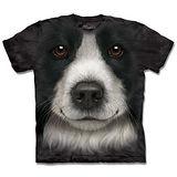 『摩達客』(預購)美國進口【The Mountain】自然純棉系列 邊境牧羊犬 設計T恤