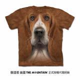 『摩達客』(預購)美國進口【The Mountain】自然純棉系列 短腿獵犬 設計T恤