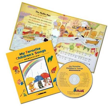 【信誼】《最受喜愛的英文童謠》(書+CD)