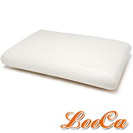 【LooCa】蜂巢式天然乳膠舒眠特大枕(1入)