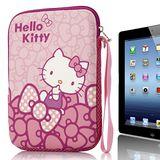 Hello Kitty10吋平板及小筆電保護袋-蝴蝶結粉