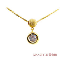 Manstyle 照耀光芒黃金小套鍊 (約1.03錢)