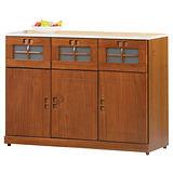 目黑通-瑟夫4尺實木碗盤櫃/收納櫃(下座)