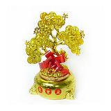 農曆春節特-(大)發財樹寶盒擺飾/桌飾飾