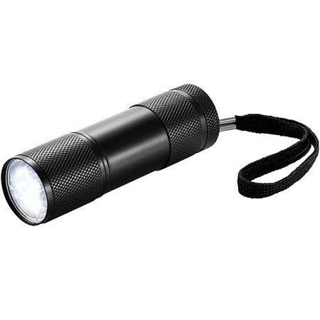 《XDDESIGN》菱紋輕巧手電筒(黑)