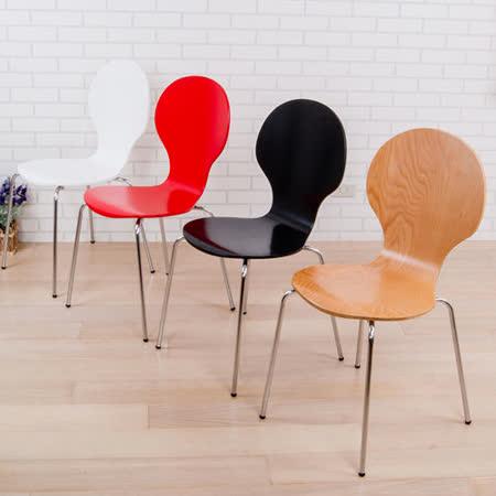 BuyJM 艾莉8字曲木餐椅(可選色)