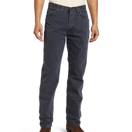 Wrangler 藍哥男品味時尚耐磨灰藍牛仔褲【預購】