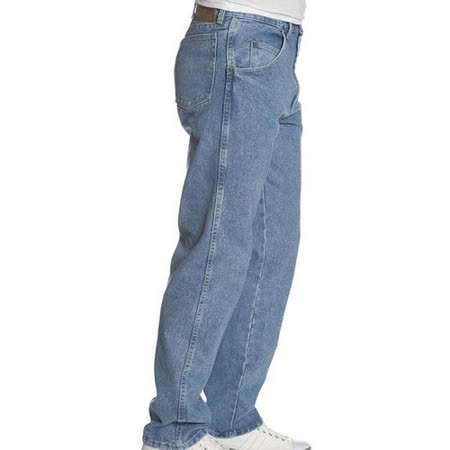 Wrangler 藍哥男耐磨休閒合身復古靛藍牛仔褲【預購】
