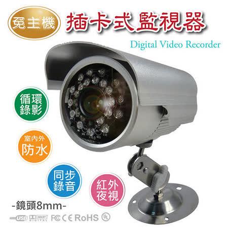 免主機/室內外安防監視器攝影機K809 (鏡頭8MM)