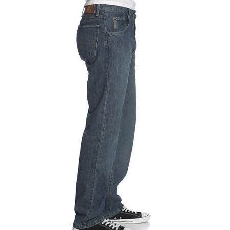 Wrangler 藍哥男品味寬鬆灰中藍色牛仔褲【預購】