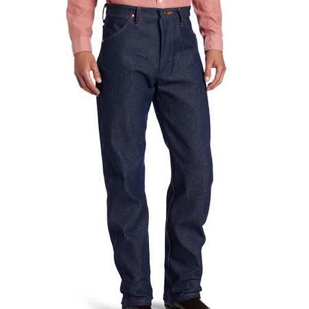 Wrangler 藍哥男經典原創設計深藍牛仔褲【預購】