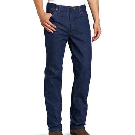 Wrangler 藍哥男魅力合身預洗靛藍色牛仔褲【預購】