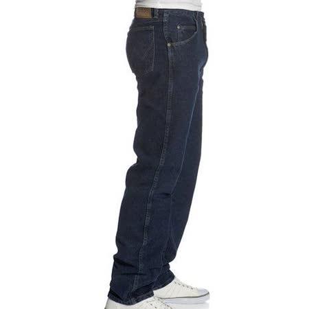 Wrangler 藍哥男經典合身復古靛藍色牛仔褲【預購】