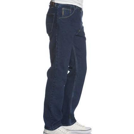 Wrangler 藍哥男標緻合身復古靛藍色牛仔褲【預購】
