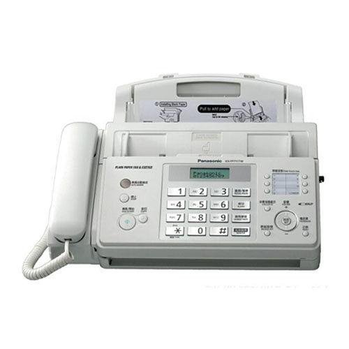 Panasonic KX~FP711KX~FP711TW 普通紙轉寫式傳真機^~超大按鍵~