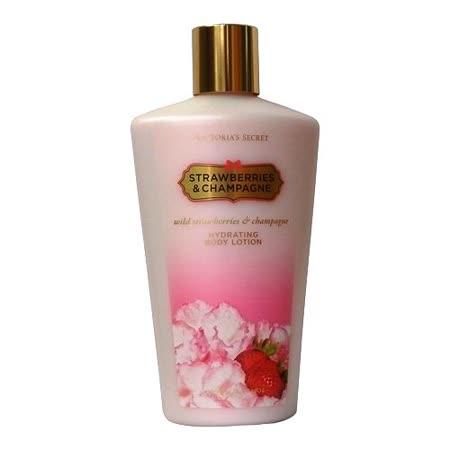 Victoria's  Secret身體香水乳液~草莓香檳