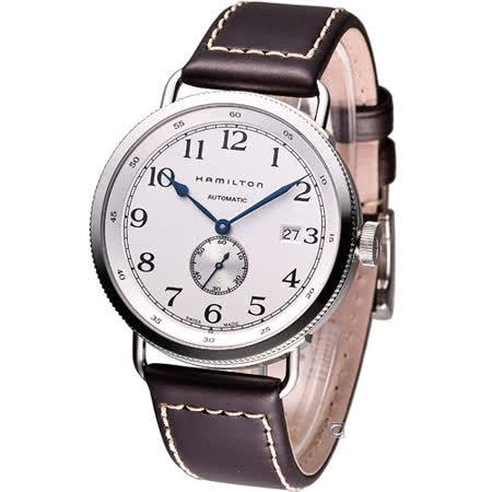 Hamilton Khaki Navy pioneer 復刻經典機械腕錶H78465553白