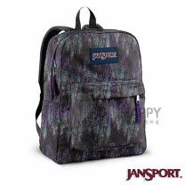 Jansport 25L 簡單休閒後背包(頻率紫)
