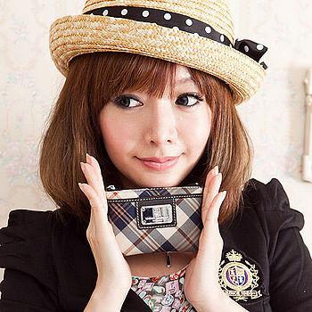 【金安德森】 經典方款2nd 拉鍊鎖環零錢包-優雅米格