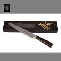 料理刀具  大馬士革鋼系列-魚肉刀 〔臻〕高級廚具