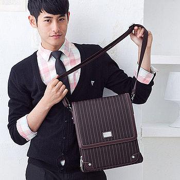 【金安德森】時尚掀蓋側背包