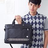 【金安德森】專業型男風 品味兩用手提公事包