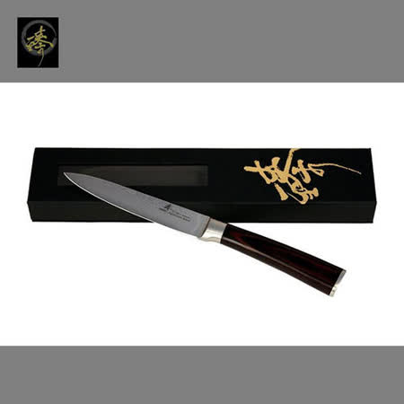 料理刀具  大馬士革鋼系列-水果刀 〔臻〕高級廚具