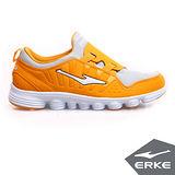 【ERKE爾克】男性運動綜合訓練慢跑鞋-柑橘/淺灰(歐碼:39-43)