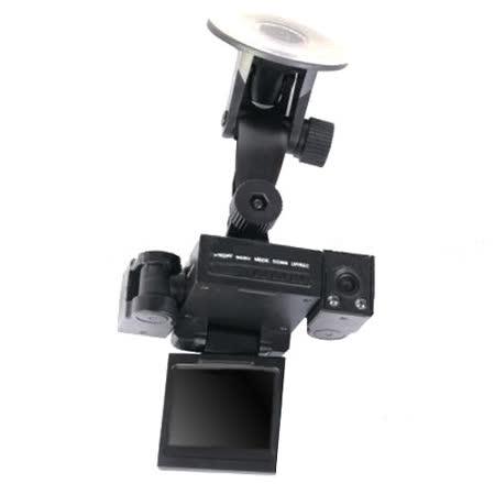 魔鷹 變形金剛 雙鏡頭 LED紅外線夜視 270度 行車紀錄器