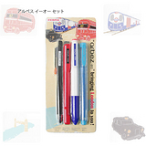 ZEBRA P-XA67  阿貝斯eo 泡殼組 原子筆/自動鉛筆/螢光筆/三色筆