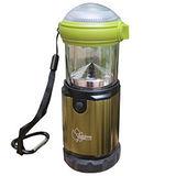 3W LED 露營兩用可調式營燈。可當手電筒 21713