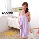 【MORINO】超細纖維絨毛美姿浴裙