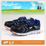 【G.P 童】阿亮代言-(32-38尺碼)休閒運動童鞋 P5137B-20(藍色) 共二色