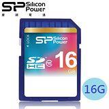 廣穎 SiliconPower 16GB SDHC Class10 記憶卡