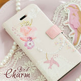 【Happymori】※Bird Charm※ 側開手機皮套 適用Galaxy Note2 N7100