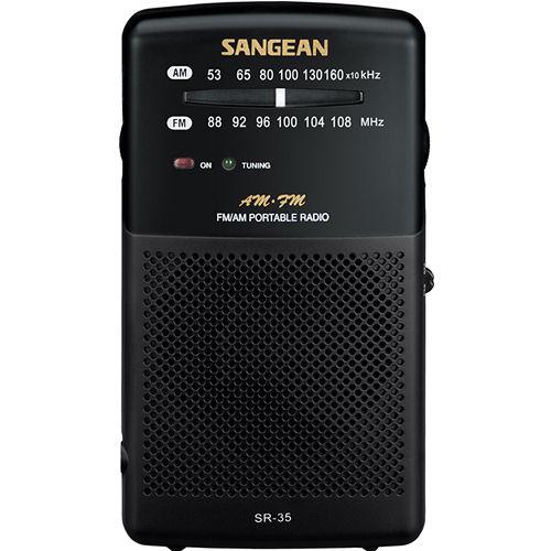 ~SANGEAN~二波段 掌上型收音機AMFM ^(SR~35^)