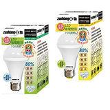 日象9W LED省電燈泡 (2入組) ZOL-LED700