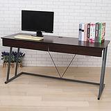 BuyJM 凱特附電線孔雙抽Z型工作桌(寬160cm)-可選色
