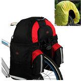 PUSH!自行車用品 環球環島專業型 二包合一馬鞍袋 馬鞍包 雙肩背包 手提包(附3贈品)