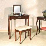 【Asllie】掀蓋化妝桌椅組